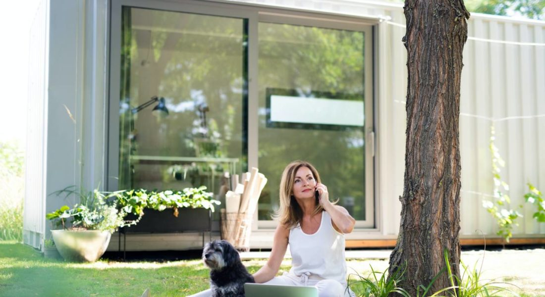 casa senza giardino per il cane